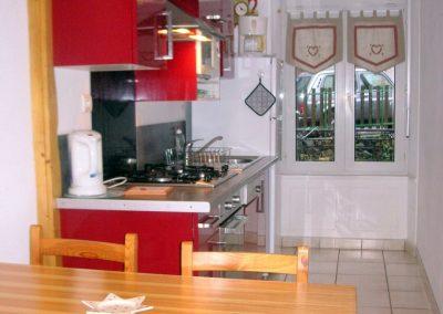 Appartement Funiculaire, la cuisine
