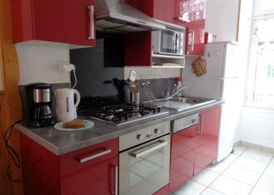 Appartement Funiculaire, la cuisine complètement équipée
