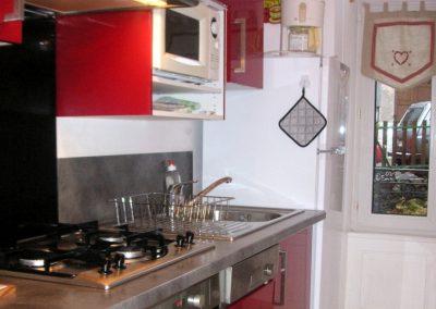 Appartement Funiculaire, la cuisine toute equipée