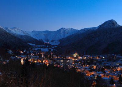 Le Mont-Dore la nuit