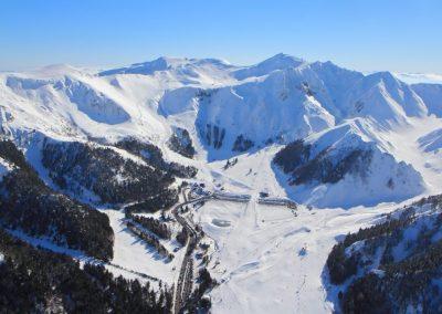 Le Mont-Dore le station du ski